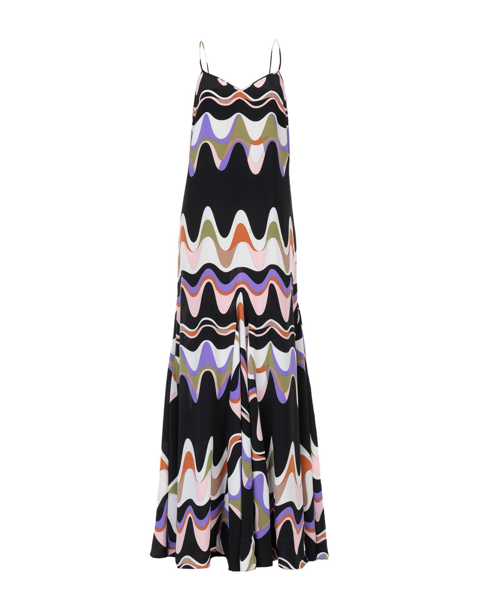 EMILIO PUCCI Длинное платье emilio pucci пляжное платье