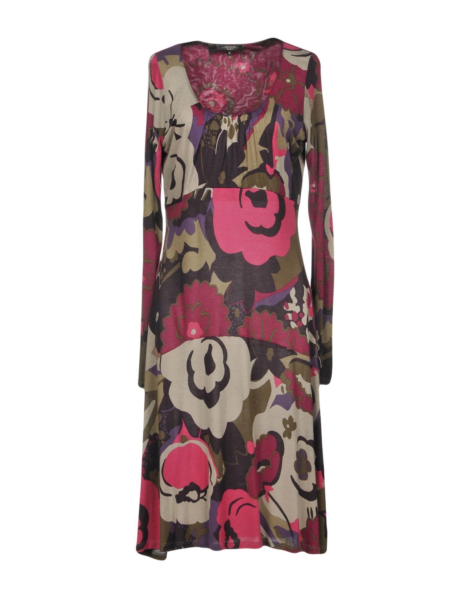 купить WEEKEND MAX MARA Платье до колена по цене 15500 рублей