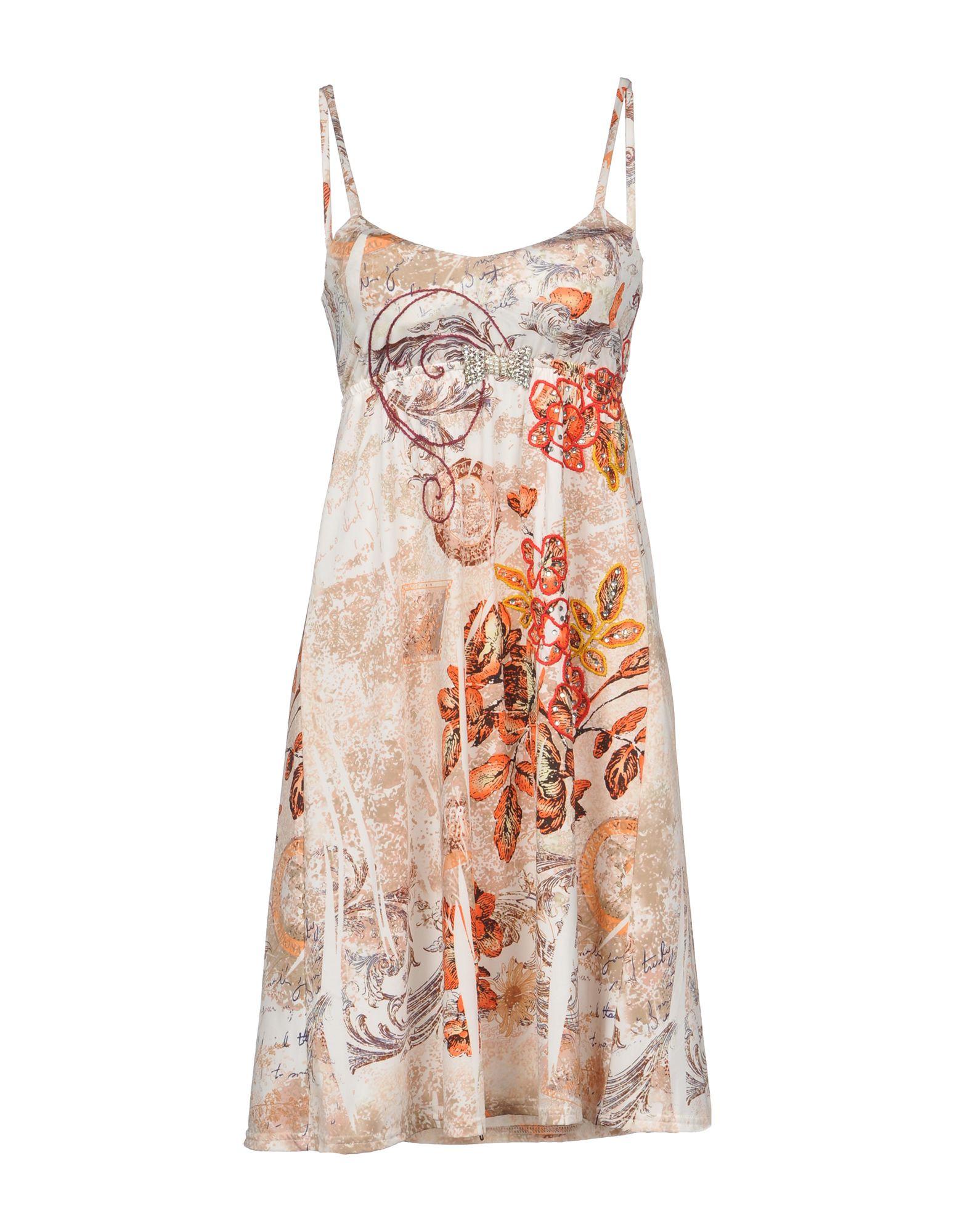 SPY Short Dress in Ivory