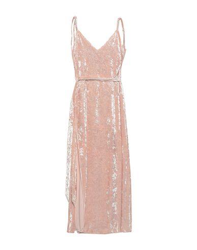 Фото - Женское длинное платье WEILI ZHENG розового цвета
