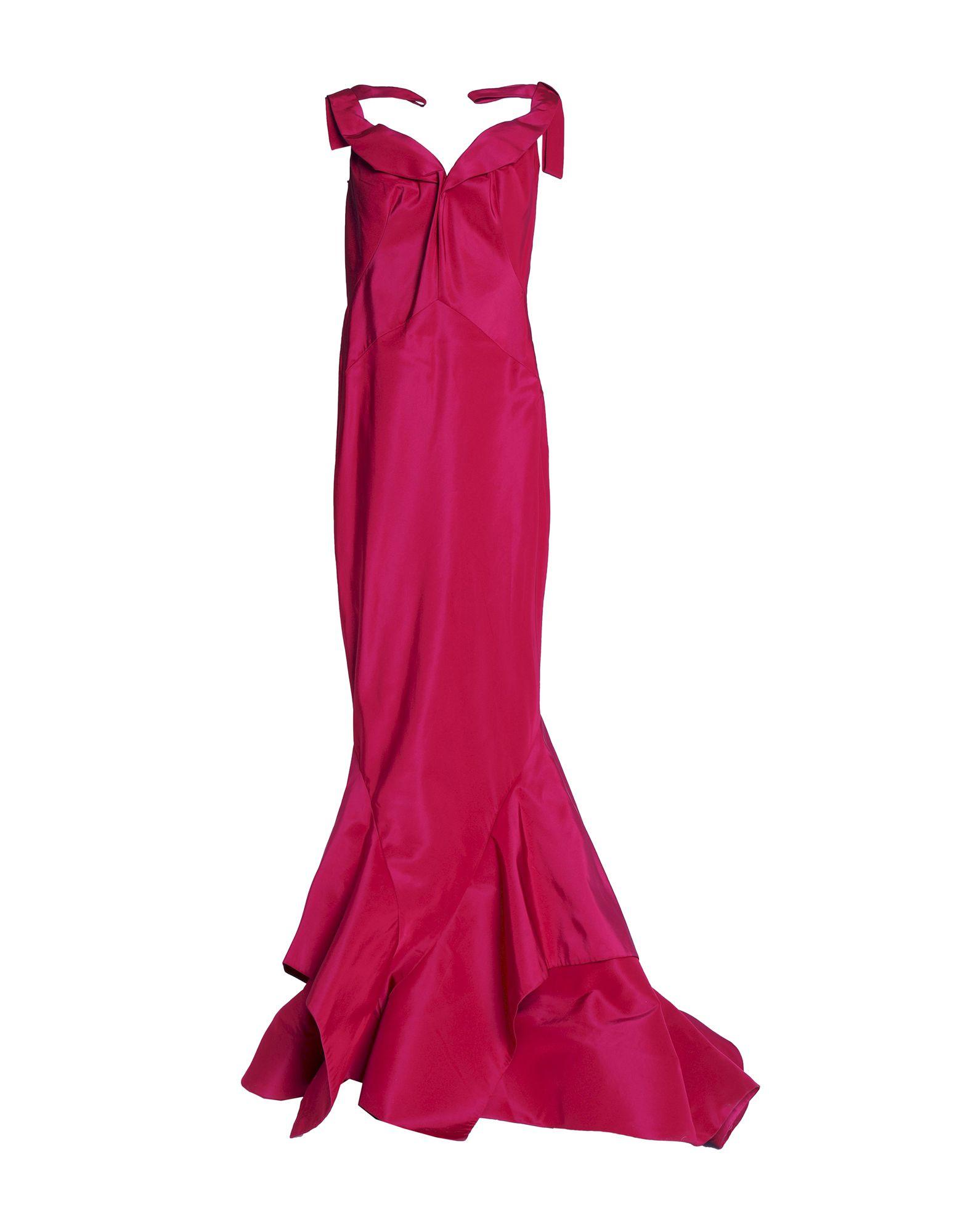 ZAC POSEN Длинное платье недорго, оригинальная цена