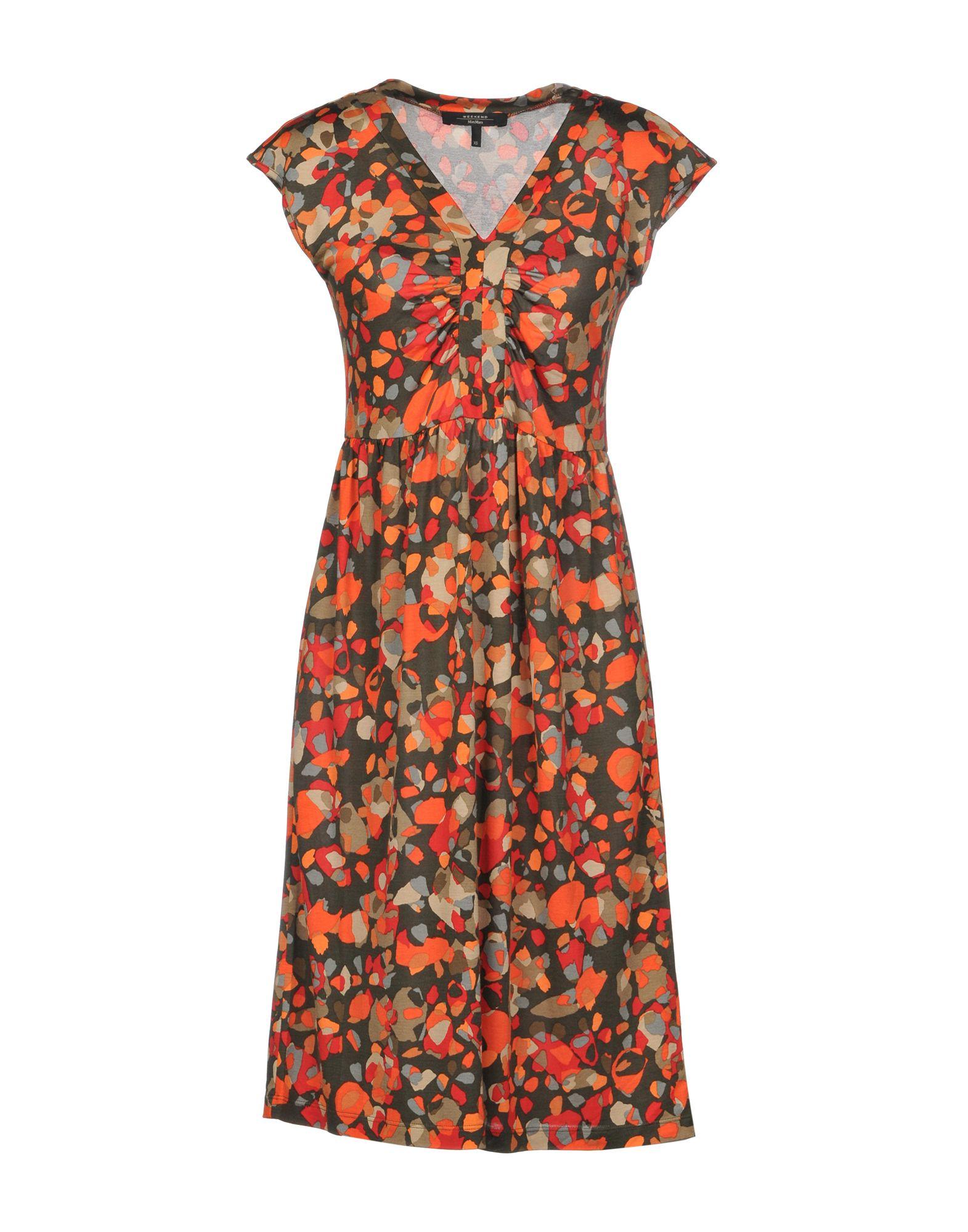 купить WEEKEND MAX MARA Платье до колена по цене 18000 рублей