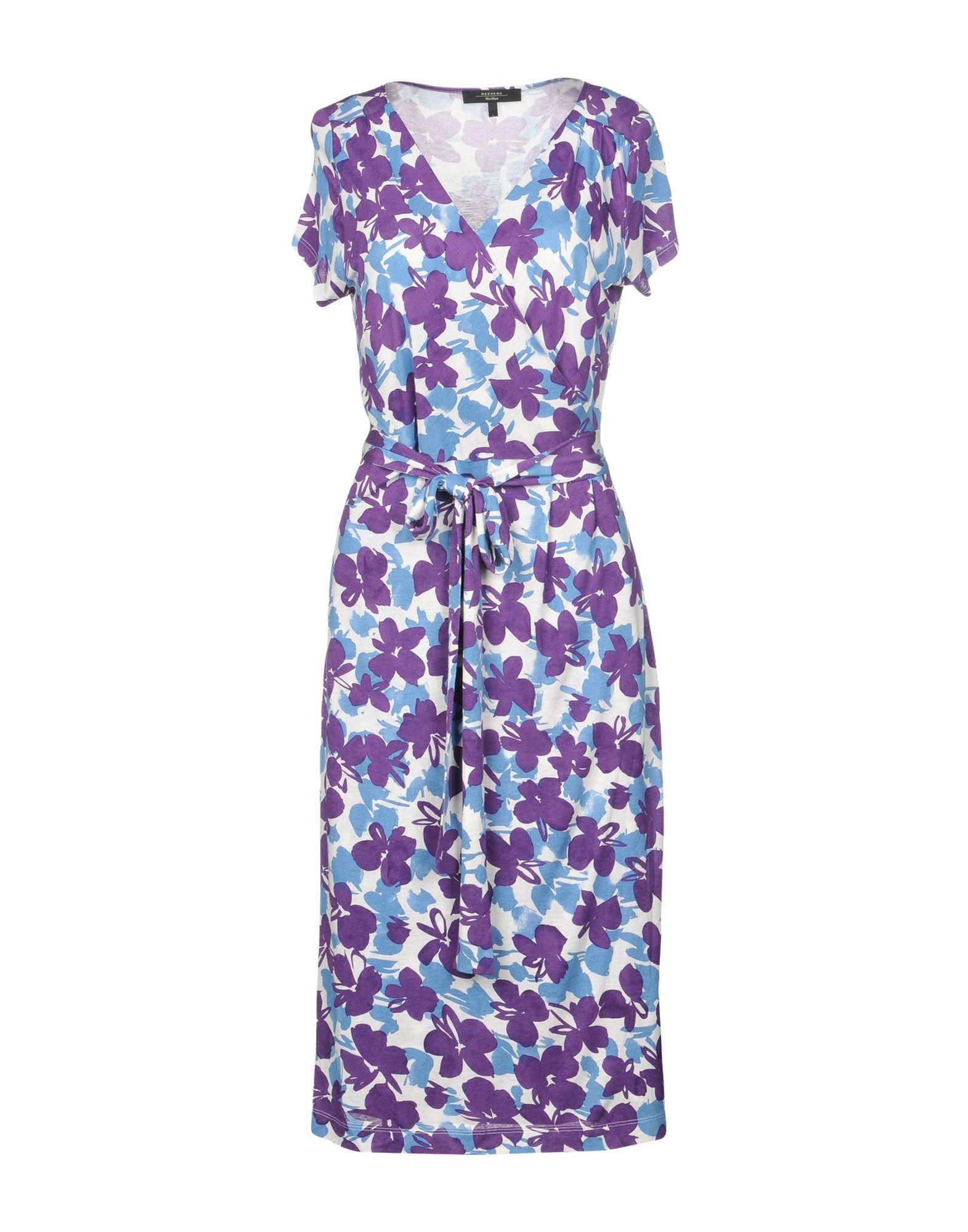 купить WEEKEND MAX MARA Платье длиной 3/4 по цене 12250 рублей