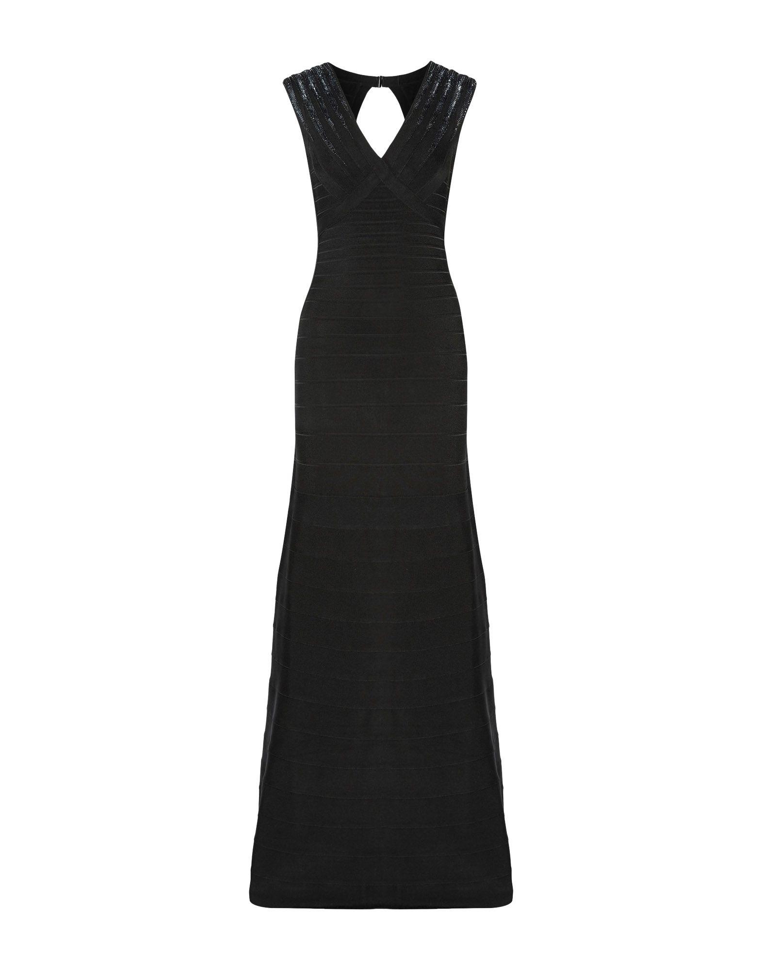 HERVÉ LÉGER Длинное платье цена 2017