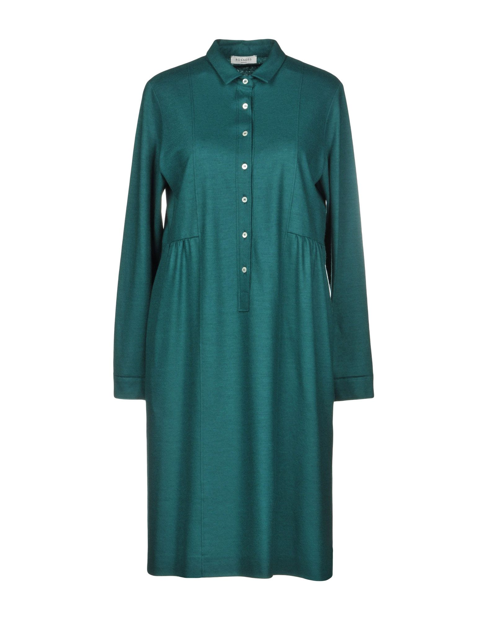 ROSSO35 Короткое платье платье рубашка fox yulia sway платье рубашка fox
