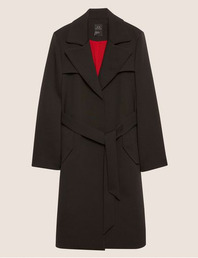 CONTRAST-LINED FLUID TRENCH