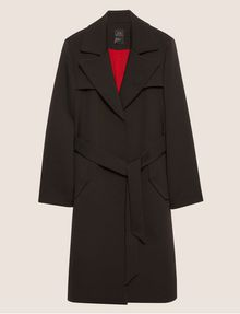 ARMANI EXCHANGE CONTRAST-LINED FLUID TRENCH Coat [*** pickupInStoreShipping_info ***] r