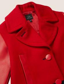 ARMANI EXCHANGE GIRLS WOOL-BLEND COLORBLOCKED PEA COAT Coat [*** pickupInStoreShipping_info ***] d