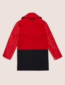 ARMANI EXCHANGE GIRLS WOOL-BLEND COLORBLOCKED PEA COAT Coat [*** pickupInStoreShipping_info ***] r