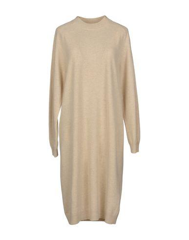 Купить Платье до колена от WEEKEND MAX MARA бежевого цвета