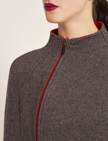 ARMANI EXCHANGE REVERSIBLE DOUBLE-FACE WOOL BLEND CAPE Jacket Woman b