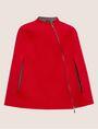 ARMANI EXCHANGE REVERSIBLE DOUBLE-FACE WOOL BLEND CAPE Jacket Woman r