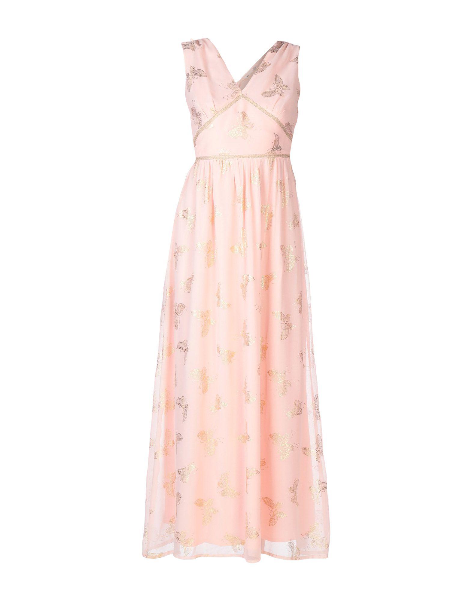 YUMI' Длинное платье overall yumi overall