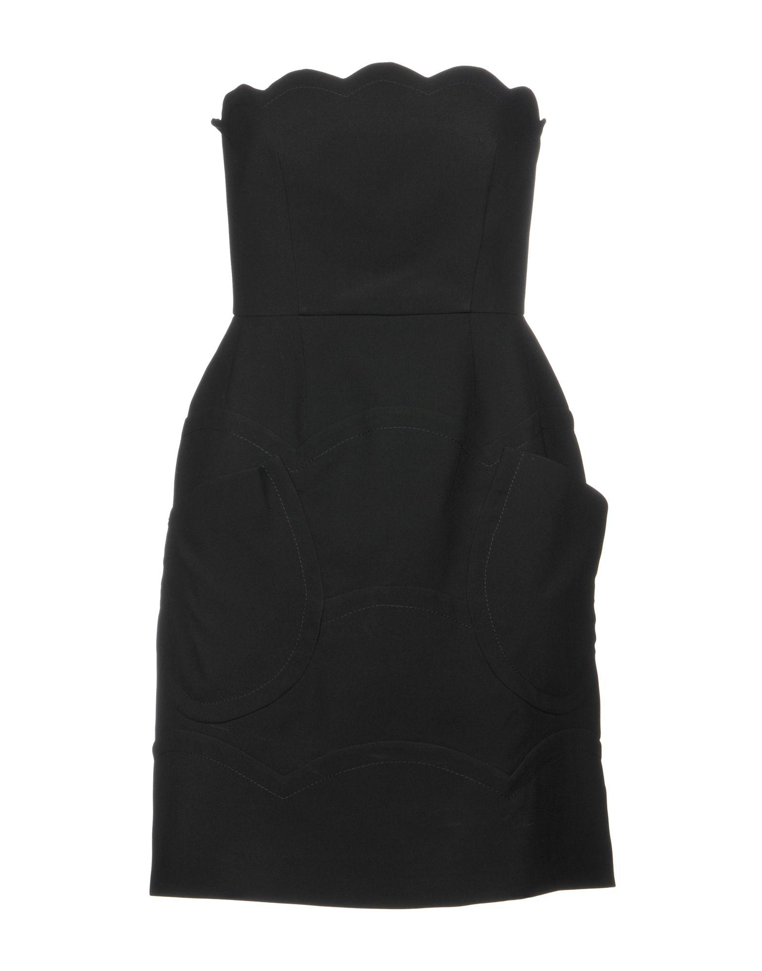 MIU MIU Короткое платье оправа miu miu miu miu mi007dwhag36