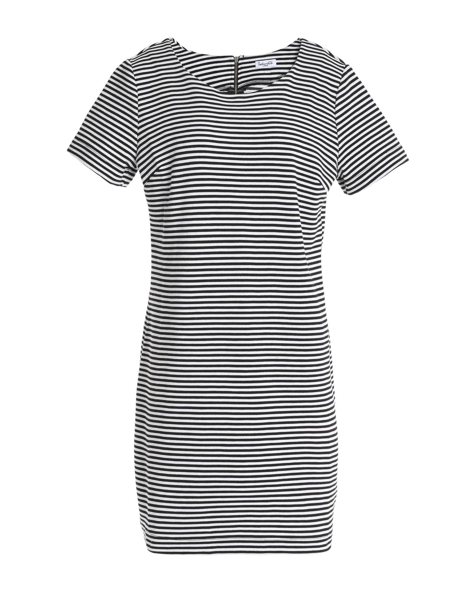 SPLENDID Короткое платье splendid юбка sandwash в рубчик