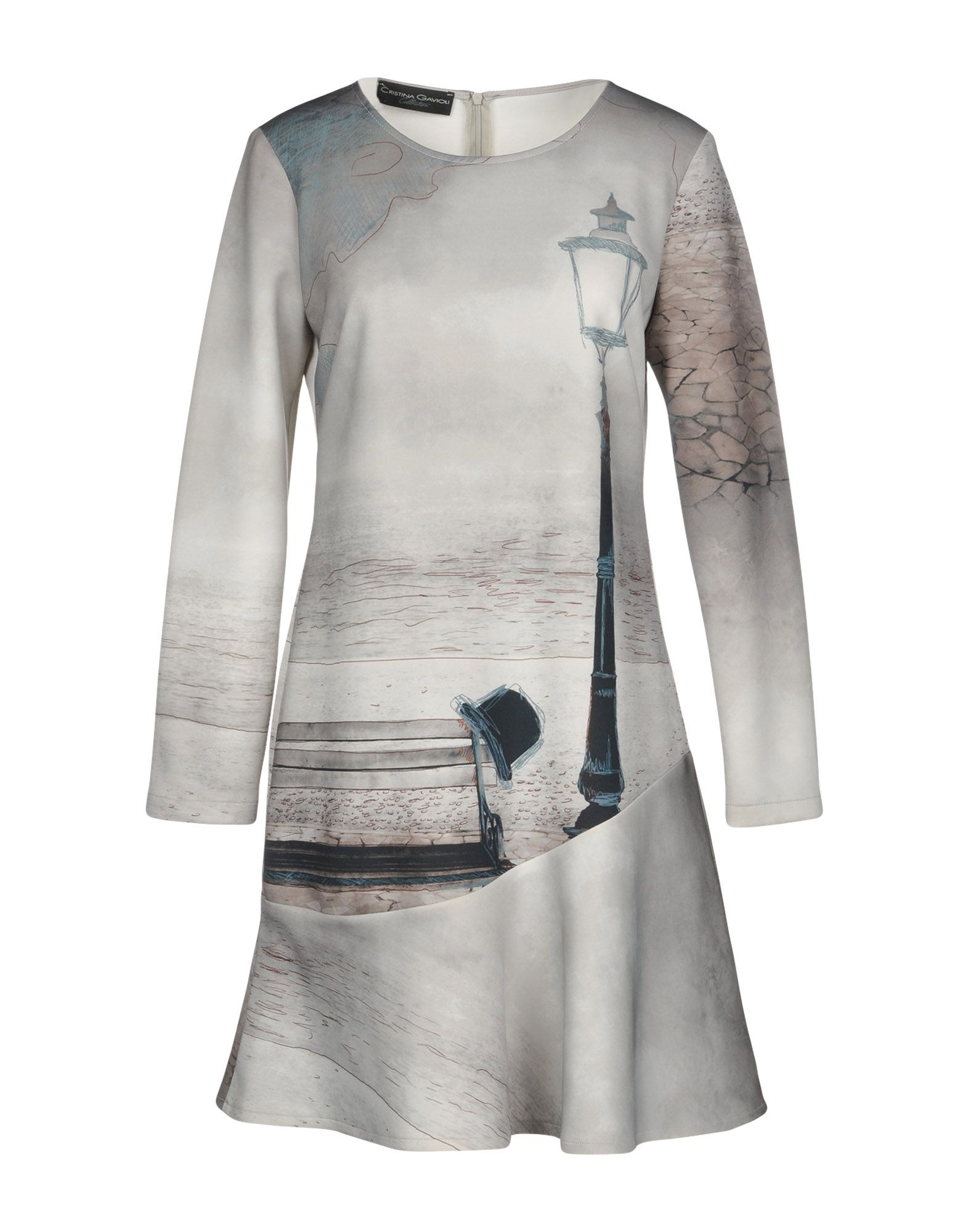 CRISTINA GAVIOLI COLLECTION Короткое платье платье cristina gavioli цвет бордовый