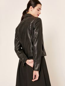 ARMANI EXCHANGE GIACCA BIKER CON PIRAMIDI GOFFRATE Blouson [*** pickupInStoreShipping_info ***] e