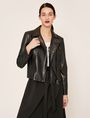 ARMANI EXCHANGE GIACCA BIKER CON PIRAMIDI GOFFRATE Blouson [*** pickupInStoreShipping_info ***] f