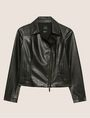 ARMANI EXCHANGE GIACCA BIKER CON PIRAMIDI GOFFRATE Blouson [*** pickupInStoreShipping_info ***] r