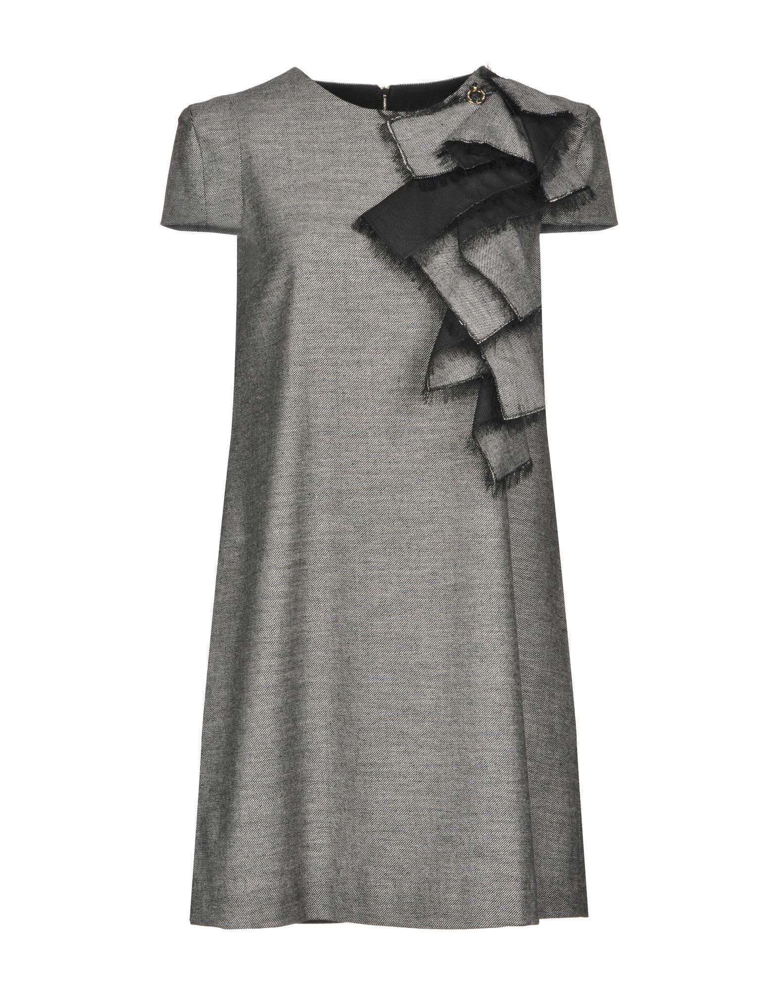 MANGANO Short Dress in Grey
