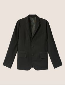 ARMANI EXCHANGE GEO CAMO-LINED BLAZER Blazer [*** pickupInStoreShippingNotGuaranteed_info ***] r