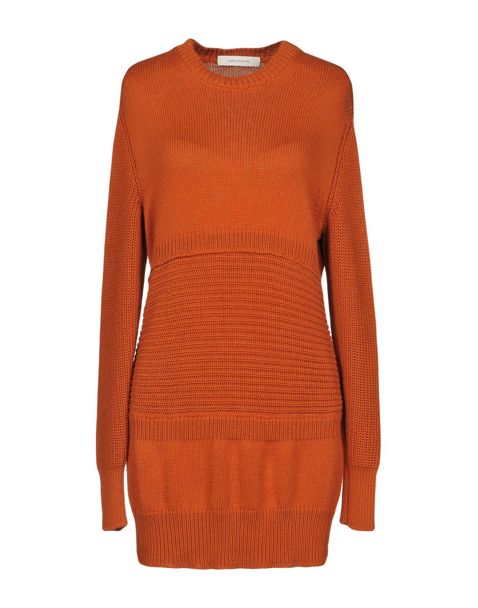CEDRIC CHARLIER Короткое платье cedric charlier пиджак