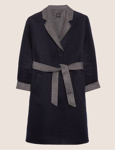 DOUBLE-FACE WOOL BLEND COAT