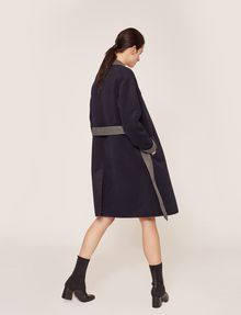 ARMANI EXCHANGE DOUBLE-FACE WOOL BLEND COAT Jacket Woman e