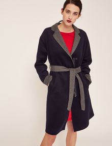 ARMANI EXCHANGE DOUBLE-FACE WOOL BLEND COAT Jacket Woman f