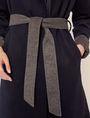 ARMANI EXCHANGE DOUBLE-FACE WOOL BLEND COAT Jacket Woman b