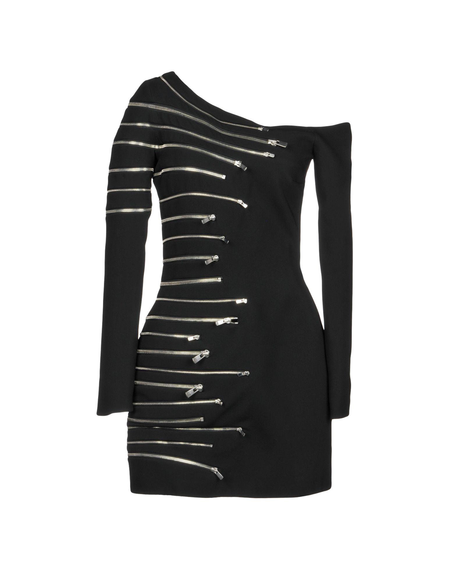 JAY AHR Short Dress in Black