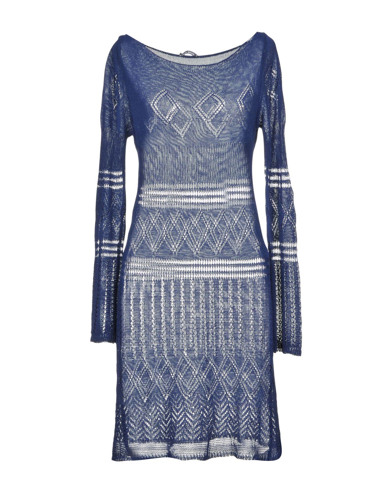 MIA WISH Короткое платье туники сарафаны mia mia платье leona цвет синий s