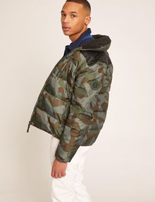 ARMANI EXCHANGE GEO CAMO PUFFER JACKET PUFFER JACKET Man a