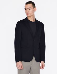 ARMANI EXCHANGE CLASSIC TAILORED BLAZER Blazer Man f