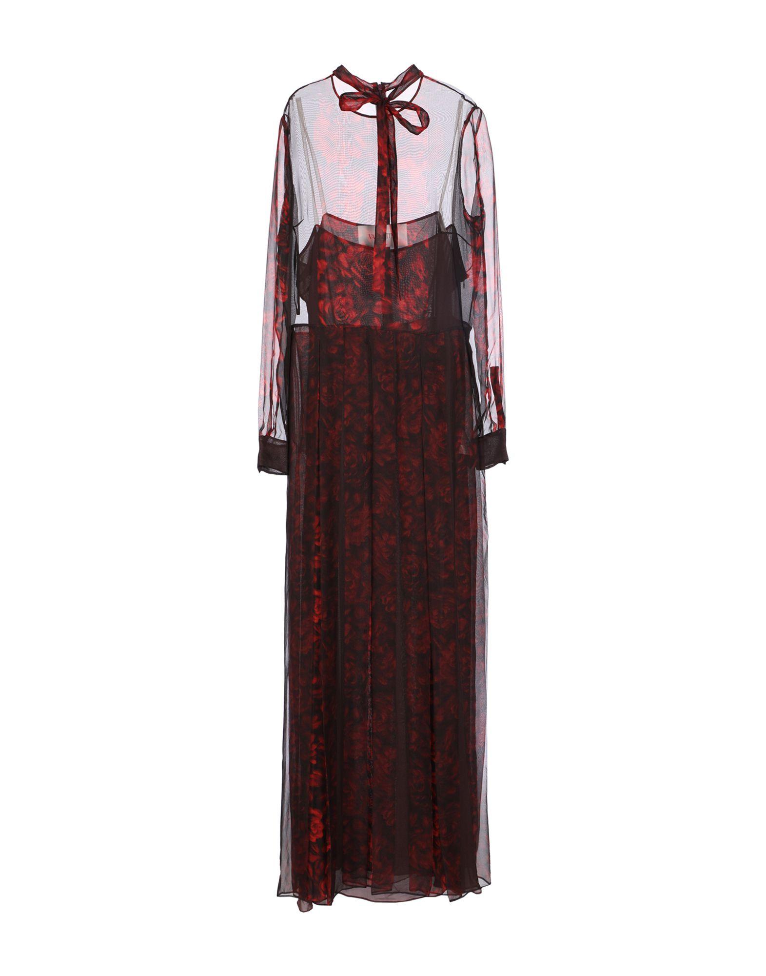 VALENTINO Длинное платье редуктор walcom 61000