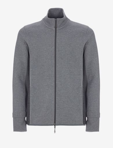 COLORBLOCKED ZIP-UP TRACK JACKET