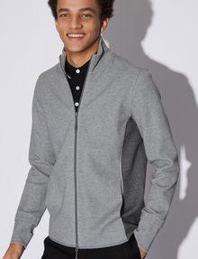 ARMANI EXCHANGE COLORBLOCKED ZIP-UP TRACK JACKET Sweatshirt Man a