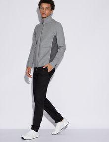 ARMANI EXCHANGE COLORBLOCKED ZIP-UP TRACK JACKET Sweatshirt [*** pickupInStoreShippingNotGuaranteed_info ***] d
