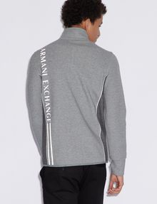 ARMANI EXCHANGE COLORBLOCKED ZIP-UP TRACK JACKET Sweatshirt [*** pickupInStoreShippingNotGuaranteed_info ***] e
