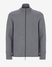 ARMANI EXCHANGE COLORBLOCKED ZIP-UP TRACK JACKET Sweatshirt Man r
