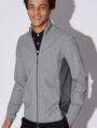 ARMANI EXCHANGE COLORBLOCKED ZIP-UP TRACK JACKET Sweatshirt [*** pickupInStoreShippingNotGuaranteed_info ***] a