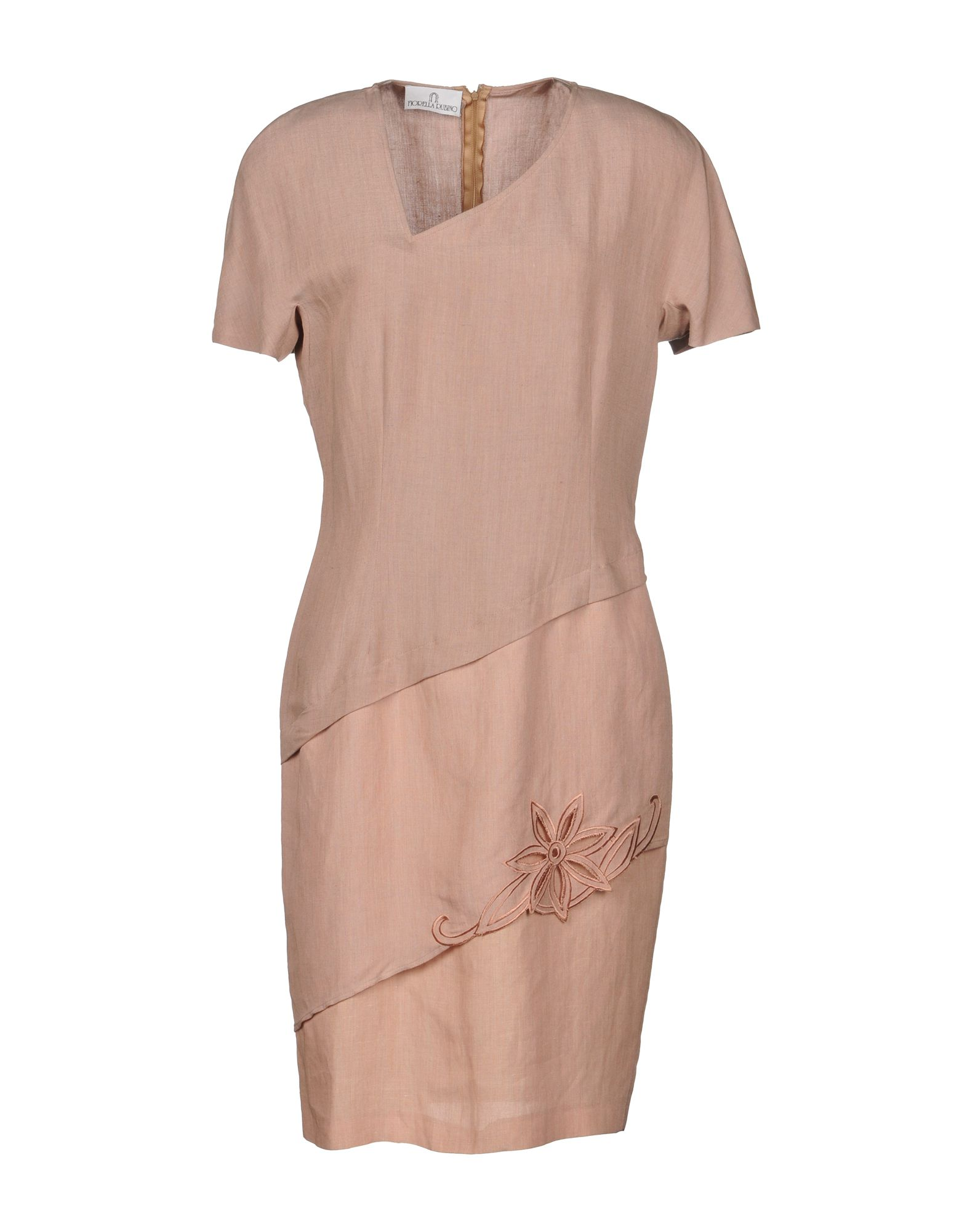FIORELLA RUBINO Короткое платье футболка fiorella rubino fiorella rubino fi013ewziq63