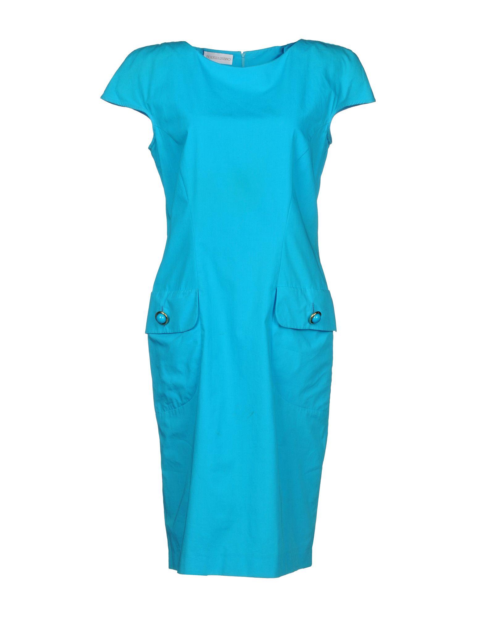 FIORELLA RUBINO Платье до колена футболка fiorella rubino fiorella rubino fi013ewziq63