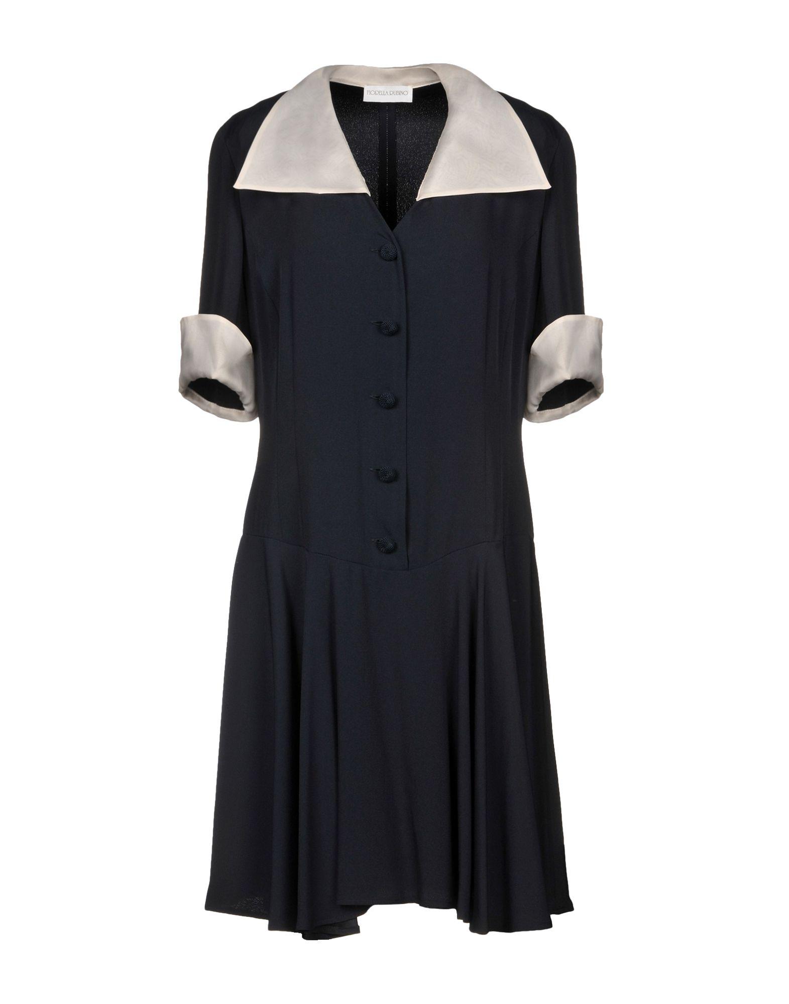 FIORELLA RUBINO Короткое платье брюки fiorella rubino fiorella rubino fi013ewbpsw6