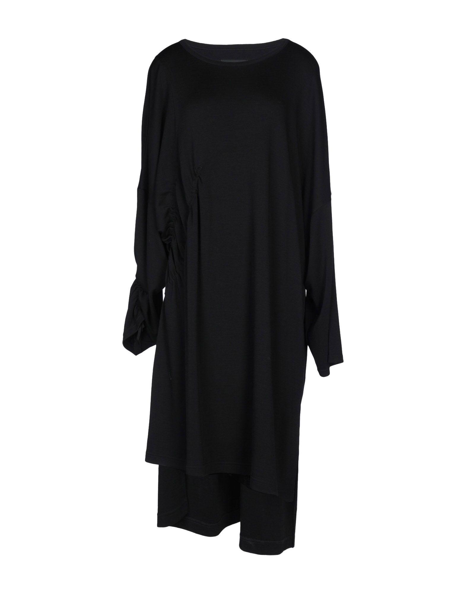B YOHJI YAMAMOTO Платье до колена планшет samsung galaxy tab tab e sm t561 8gb white sm t561nzwaser