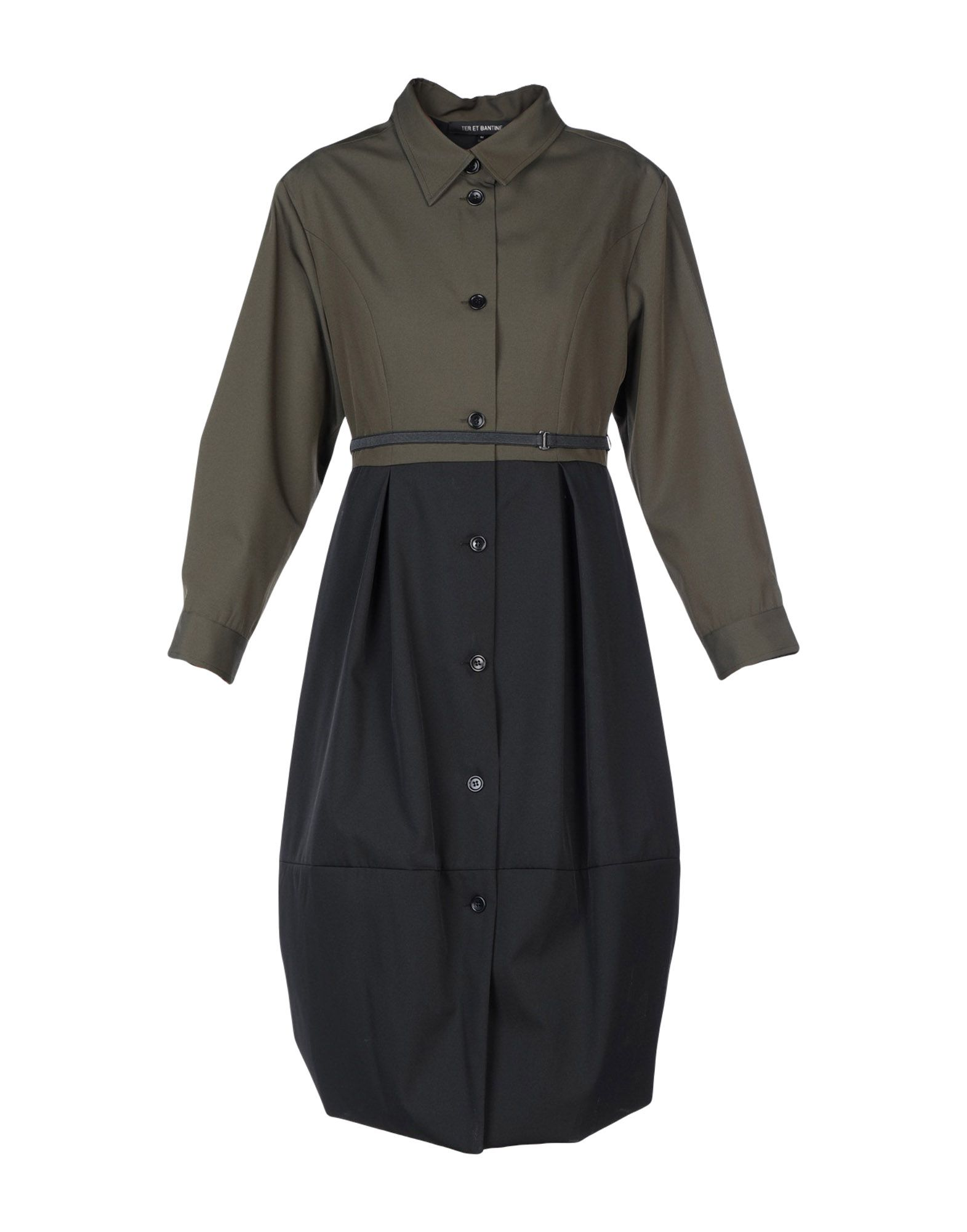 TER ET BANTINE Платье до колена цена 2017