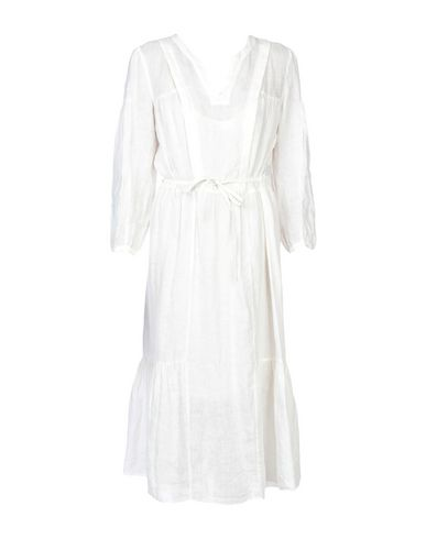 Купить Платье до колена от ISABEL MARANT ÉTOILE белого цвета