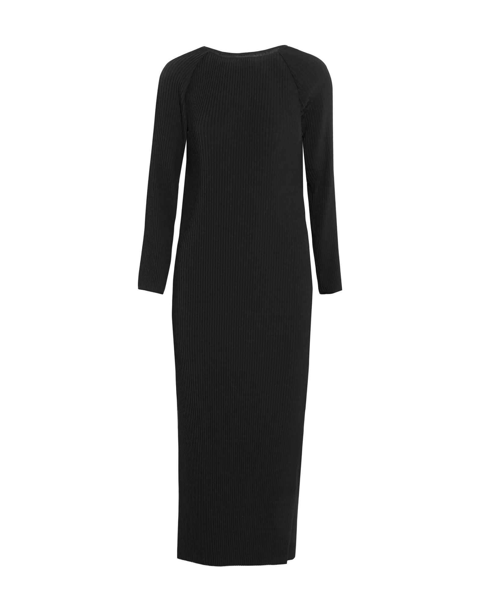 CASASOLA Long Dresses in Black