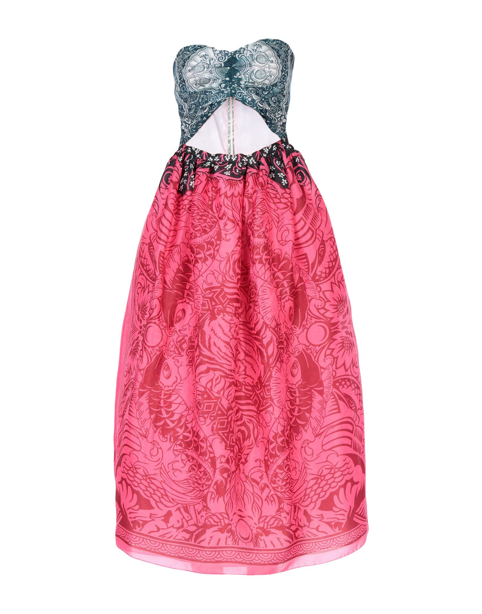MARY KATRANTZOU Платье длиной 3/4 цена 2017