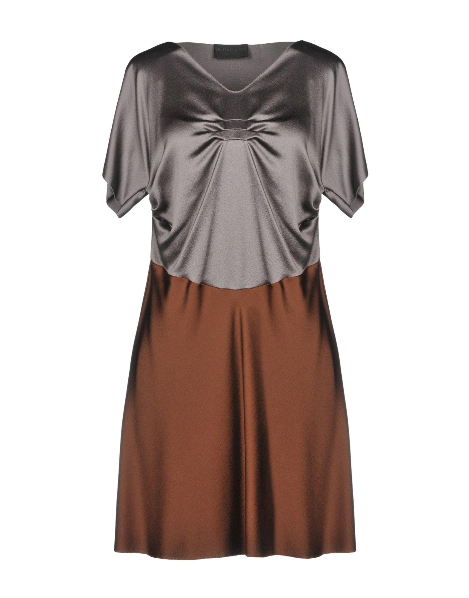 DEREK LAM Короткое платье цены онлайн